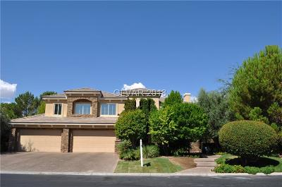 Las Vegas Single Family Home For Sale: 2817 High Sail Court