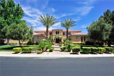Las Vegas Single Family Home For Sale: 7504 Via Fiorentino Street