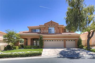 Las Vegas Single Family Home For Sale: 8613 Chiquita Drive