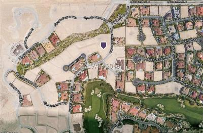 Las Vegas Residential Lots & Land For Sale: 7 Augusta Canyon Way