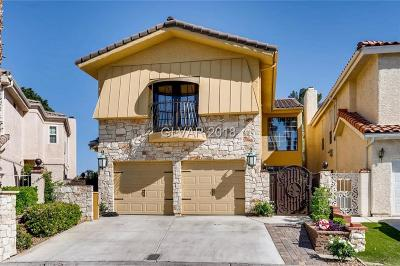 Las Vegas Single Family Home Contingent Offer: 2863 Queens Courtyard Drive