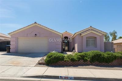 Henderson Single Family Home For Sale: 1013 Skysail Drive