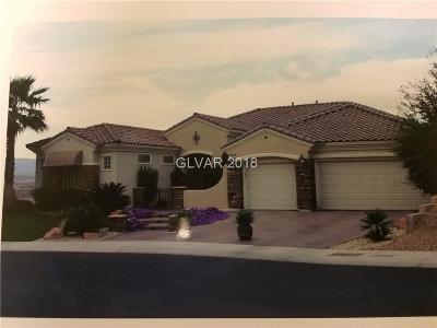 Clark County Single Family Home Contingent Offer: 1647 Sebring Hills Drive