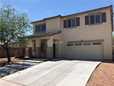 North Las Vegas Single Family Home For Sale: 4613 Goldfield Street