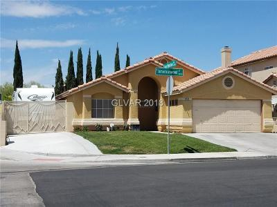 Las Vegas Single Family Home For Sale: 4801 Americanwood Street
