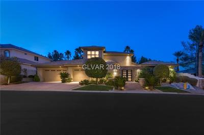 Las Vegas NV Single Family Home For Sale: $1,549,000