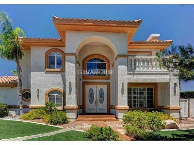 Las Vegas NV Single Family Home For Sale: $649,900