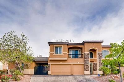 Las Vegas NV Single Family Home For Sale: $599,900