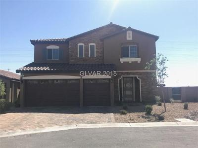 Las Vegas NV Single Family Home For Sale: $540,000