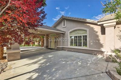 Las Vegas Single Family Home For Sale: 7760 Sisk Road