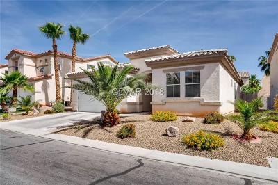 Las Vegas Single Family Home For Sale: 322 Turtle Peak Avenue