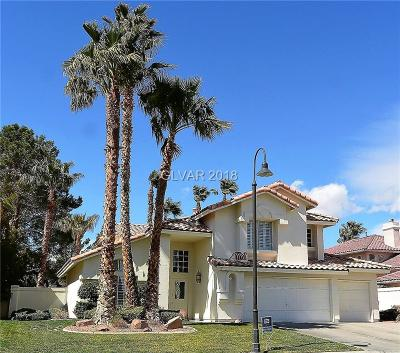 Las Vegas Single Family Home Contingent Offer: 5209 Sandy Cactus Lane