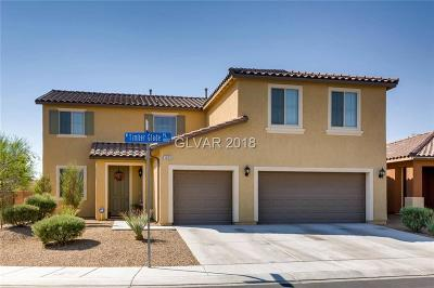 North Las Vegas Single Family Home Contingent Offer: 1859 Timber Glade Place
