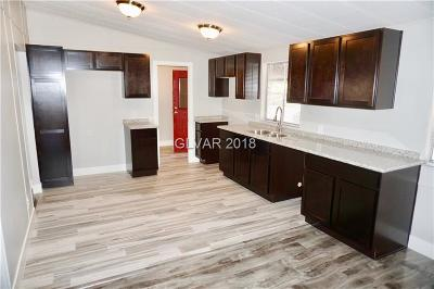 Las Vegas Manufactured Home For Sale: 3659 Death Valley Drive