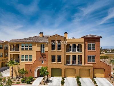Las Vegas Condo/Townhouse For Sale: 2555 Hampton Road #6306