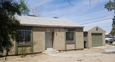North Las Vegas Single Family Home Under Contract - No Show: 2806 East Carey Avenue