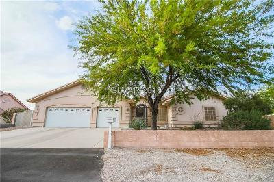 Henderson Single Family Home Contingent Offer: 1540 Stirrup Drive
