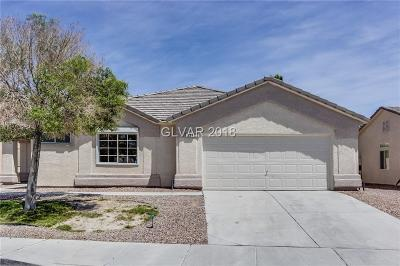 North Las Vegas NV Single Family Home Under Contract - No Show: $297,000
