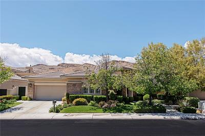 Red Rock, Red Rock Cntry Club At Summerl Single Family Home For Sale: 2797 Turtle Head Peak Drive