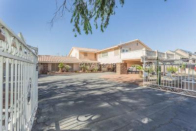 Las Vegas Single Family Home For Sale: 6680 Elkhorn Road