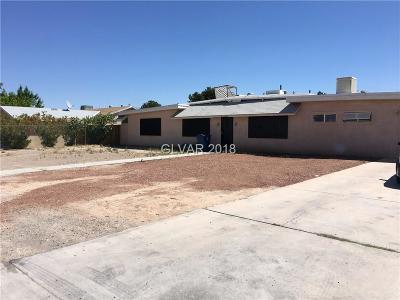Las Vegas  Single Family Home For Sale: 2140 Marion Drive