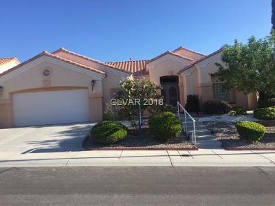 Sun City Summerlin Single Family Home For Sale: 10536 Findlay Avenue