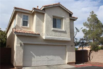 North Las Vegas Single Family Home Contingent Offer: 2910 Paradise Hill Court