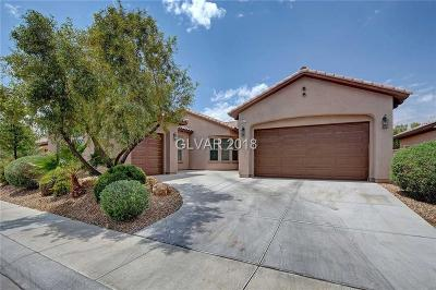 North Las Vegas Single Family Home For Sale: 7213 Redhead Drive