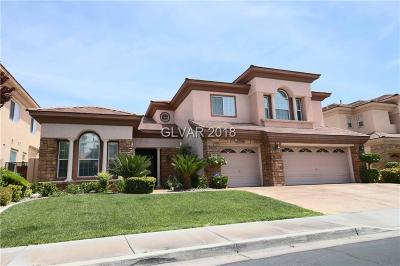 Las Vegas Single Family Home Under Contract - Show: 2868 Middle Earth Street