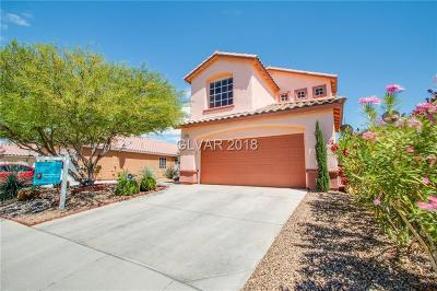 North Las Vegas Single Family Home Under Contract - No Show: 3712 Penny Cross Drive
