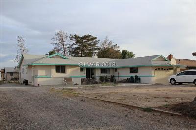 Las Vegas  Single Family Home For Sale: 4925 Happy Valley Avenue