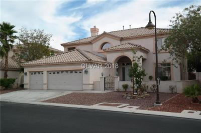 Las Vegas Single Family Home For Sale: 150 South Painted Mountain Drive
