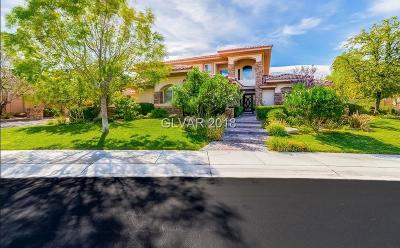 Henderson NV Single Family Home For Sale: $1,399,999