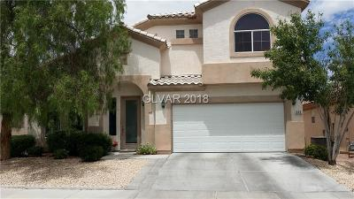 Las Vegas Single Family Home Contingent Offer: 212 Waterton Lakes Avenue