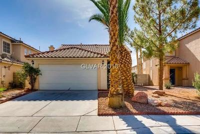 North Las Vegas Single Family Home Contingent Offer: 6043 Evening View Street