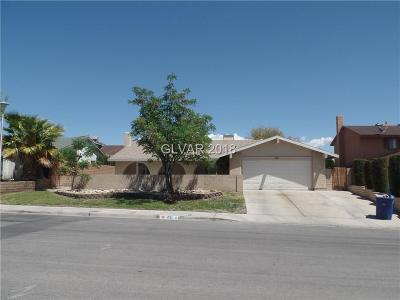 Boulder City Single Family Home For Sale: 1521 Sandra Drive