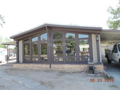 Las Vegas Manufactured Home For Sale: 5023 Sitka Lane
