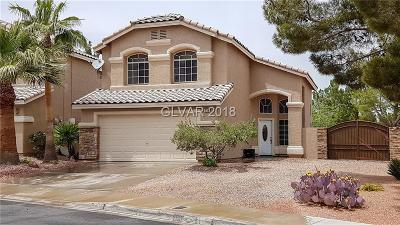 Henderson Single Family Home Contingent Offer: 209 Cimarron Village Way