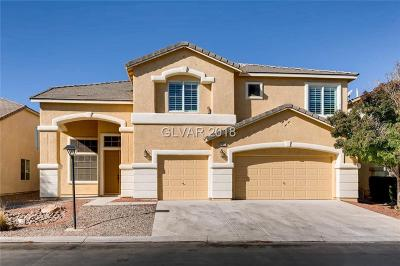 Las Vegas Single Family Home For Sale: 7917 Soaring Brook Street