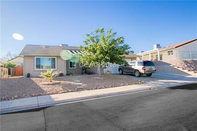 Boulder City Single Family Home Contingent Offer: 780 Sandra Drive