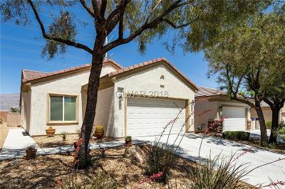 North Las Vegas Single Family Home Contingent Offer: 2924 Ground Robin Drive