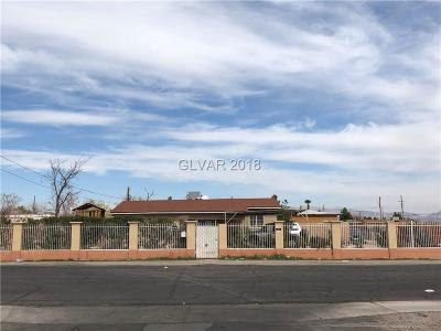Clark County Single Family Home Contingent Offer: 3380 Valley Lane