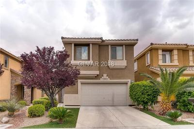 Las Vegas Single Family Home For Sale: 147 Broken Putter Way
