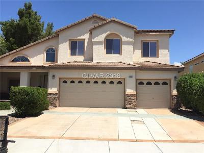 Henderson Single Family Home For Sale: 2202 Flowering Cactus Avenue