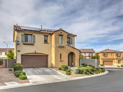 North Las Vegas Single Family Home For Sale: 1320 Evans Canyon Court