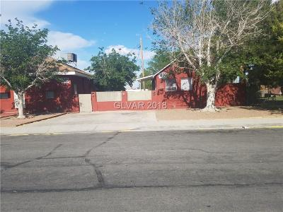 North Las Vegas Multi Family Home For Sale: 1904 Jefferson Street