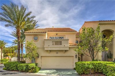 Las Vegas Condo/Townhouse For Sale: 8757 Carlitas Joy Court