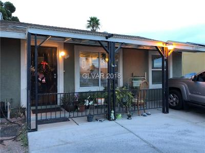 Las Vegas Single Family Home Under Contract - No Show: 4100 Maple Hill Road