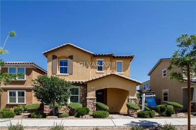 Henderson NV Single Family Home Under Contract - No Show: $426,000