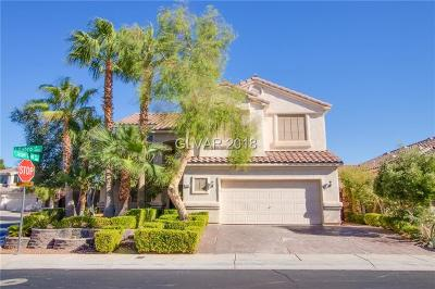 Las Vegas, North Las Vegas, Henderson Single Family Home For Sale: 8996 Gabro Lane